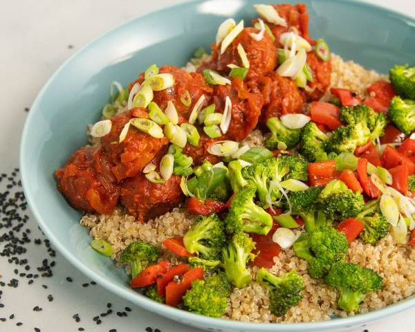 bowl de verduras